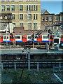 TQ2579 : London Underground Train leaving High Street Kensington Station by PAUL FARMER