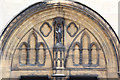 TQ2785 : All Hallows, Gospel Oak - Tympanum by John Salmon