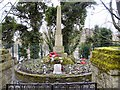 SJ9694 : Godley Hill War Memorial by Gerald England