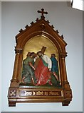 SP4540 : St John the Evangelist, Banbury: 5th Station of the Cross by Basher Eyre