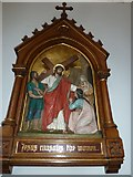 SP4540 : St John the Evangelist, Banbury: 8th Station of the Cross by Basher Eyre