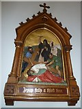 SP4540 : St John the Evangelist, Banbury: 9th Station of the Cross by Basher Eyre