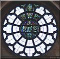 TQ2785 : All Hallows, Gospel Oak - Stained glass window by John Salmon