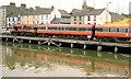 T0422 : Train, Wexford Quays (1992) by Albert Bridge