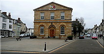 SP4416 : Woodstock Town Hall by Graham Horn