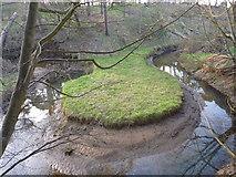 NT6378 : East Lothian Geomorphology : Narrow Neck Meander On The Hedderwick Burn by Richard West