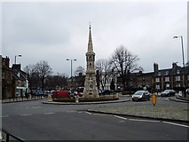 SP4540 : Banbury Cross Roundabout by Paul Gillett