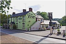 SO8483 : The Vine (1), 1 Dunsley Road, Kinver by P L Chadwick