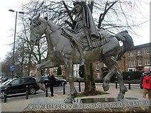 SP4540 : The Fine Lady Statue, Banbury by Paul Gillett