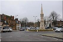 SP4540 : Banbury Cross by Philip Halling