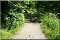 SK1454 : Gate on the Dovedale walk by Graham Horn
