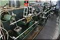 SD8634 : Queen Street Mill - steam engine by Chris Allen