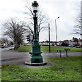 ST5976 : Commemorative fountain and lamp, Horfield Common, Bristol by Jaggery
