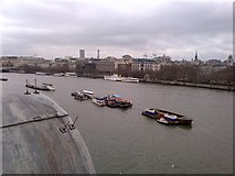 TQ3180 : A westerly view from The OXO Tower by Richard Humphrey