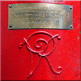 SJ8398 : The Post Box on Corporation Street by David Dixon