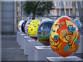 SJ8398 : The Big Egg Hunt, Exchange Square by David Dixon