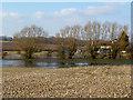 SU5277 : River Pang at Floodcross Cottage by Des Blenkinsopp