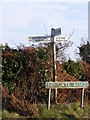 TG5101 : Roadsigns on Sidegate Road by Adrian Cable