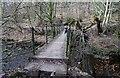 SD7212 : Footbridge at Bank Top by Philip Platt