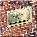 SJ9397 : Garibaldi Terrace 1861 by Gerald England