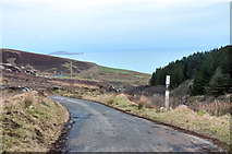 NR6307 : Road along the Mull of Kintyre by Steven Brown