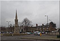 SP4540 : Banbury Cross, Banbury by Christine Matthews
