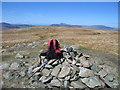 NY2912 : Ullscarf Summit Cairn by Rude Health