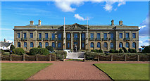 NS3321 : County Buildings, Ayr by Mary and Angus Hogg