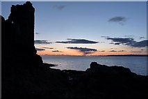 NS2515 : Dunure Sunset by Mary and Angus Hogg