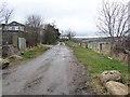 NZ1642 : Bridleway behind Wood View by Oliver Dixon