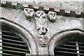 TF0554 : Bizarre carved faces, St Hybald church, Ashby de la Launde by J.Hannan-Briggs