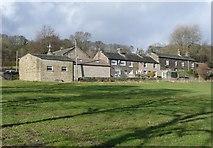 SE0721 : Houses at Gate Farm, off Scar Bottom Lane by Humphrey Bolton