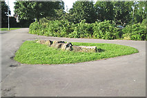 SP3578 : Path junction, Gosford Park, Coventry CV3 by Robin Stott