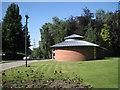 SP0892 : Office, Witton Cemetery by Robin Stott