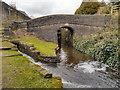 SD9803 : Huddersfield Narrow Canal, Bridge 86 by David Dixon