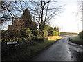 SE9135 : Trundlegate  road  to  High  Hunsley by Martin Dawes