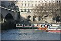 TQ3080 : RNLI Lifeboats, Waterloo Bridge by N Chadwick