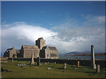 NM2824 : St Mary's Abbey, Iona by Karl and Ali