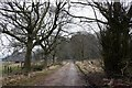 SK0152 : Driveway to Sharpcliffe Hall by Graham Hogg