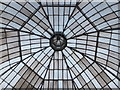 NS5761 : Dome of the Glasshouse, Queen's Park by Barbara Carr