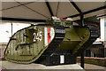 TR0042 : British Mark IV Tank, Ashford, Kent by Peter Trimming