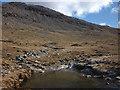 NM5235 : The Abhainn na H-Uamha below Beinn Fhada by Karl and Ali