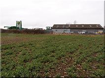 TL0536 : Farm Machinery dealership at Brookside Farm by Michael Trolove