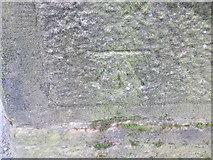 SD9827 : Ordnance Survey Cut Mark by Peter Wood