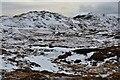 NG9724 : Snow and peat bog, Beinn Bhreac by Jim Barton