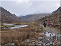 NG9918 : On the track up Gleann Lichd by Jim Barton