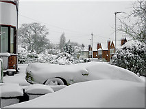 SO9096 : Even more late snow in Penn, Wolverhampton by Roger  Kidd