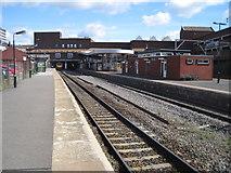 SP0198 : Walsall railway station, West Midlands, 2010 by Nigel Thompson