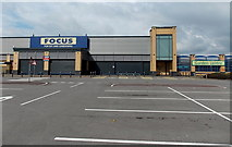 ST1167 : Former Focus store to let, Barry by Jaggery