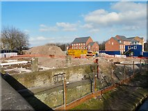 SJ9495 : Further work at former Automaster's site by Gerald England